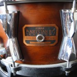 ドラム TAMA ARTSTAR Ⅱ CUSTOM スネア & EVANS ST DRY