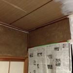 DIY リビング編 vol.10 襖の横の壁と南側の壁