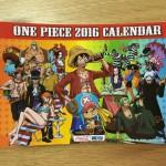 ワンピース 卓上カレンダー 2016