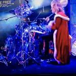 ミュージックステーション 2015.12.25 Yoshikiのドラム