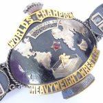 WWA 160万円で取引されたチャンピオンベルト
