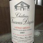 Chateau Fourcas Dupre 1997