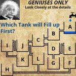 どのタンクが最初に満タンになる?