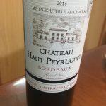 Chateau Haut Peyruguet 2014 BORDEAUX