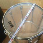 ドラム TAMA ARTSTAR ES クリスタルタム 14インチ vol.1