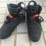AIR JORDAN 6 黒×赤