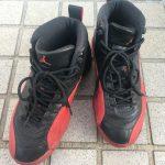 AIR JORDAN 12 黒×赤