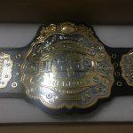 ついに届いた! IWGP 4代目 チャンピオンベルト vol.4