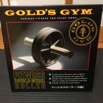 武器 vol.30 GOLD'S GYM FITNESS DOUBLE-WHEEL ROLLER