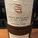 SANTA ALICIA GRAN RESERVA DE LOS ANDES MERLOT 2016
