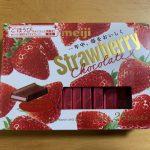 meiji ストロベリー チョコレート