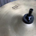 ドラムセットが改良されました vol.3 Zildjian ROCK CRASH 16インチ